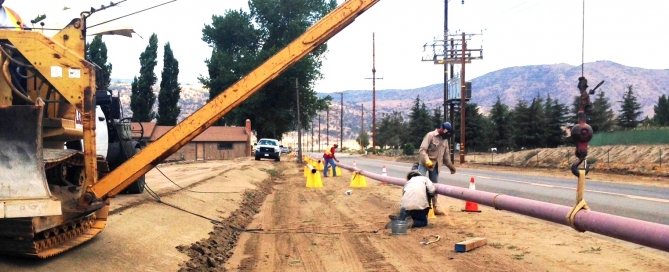 Projects – Lyles Utility Construction