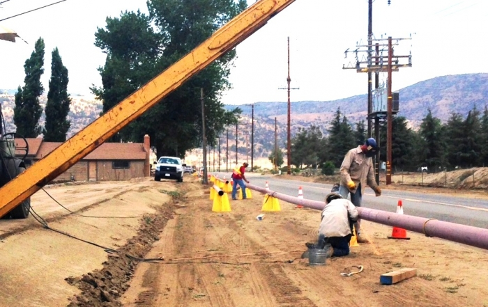 6″ Steel Natural Gas Pipeline Installation – Tehachapi, CA