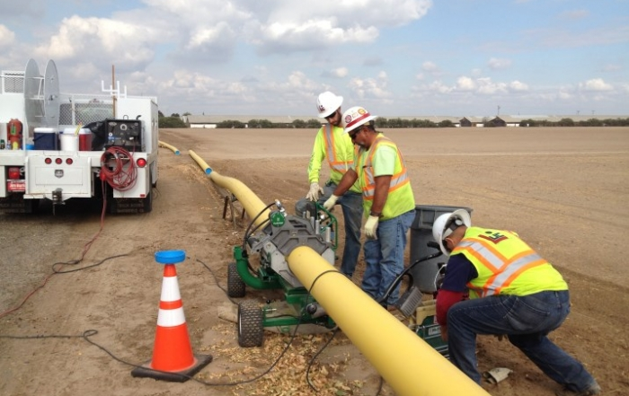 "8"" Natural Gas Pipeline"